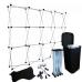 NOMA! Salokāma, viegli transportējama FOTOSIENA, prezentāciju siena uz nomu - 3 x 2,2 m