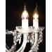 NOMA! Kroņlukturis ar 12 spuldzēm, kristāla lustra