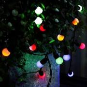 NOMA! Krāsainu LED lampiņu spuldzīšu virtene, 64 lampiņas, 18 metri