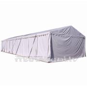 NOMA! Pasākumu telts, paviljons 6 x 20 m, balta - profi telts noma + montāža
