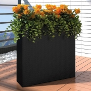 NOMA! Ziedu kompozīcija MŪRIS no mākslīgajiem ziediem, ziedu dekorācija uz grīdas