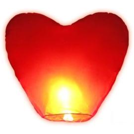 Debesu laterna sirds formā