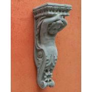 Dekoratīvs akmens plaukts, konsole Jūgendstila, Artdeco stilā - Enģelis
