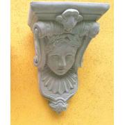 Dekoratīvs akmens plaukts, konsole Jūgendstila, Artdeco stilā - Dīva