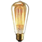 Edisona spuldze, Vintage retro lampa, 220v, 40w, ar E27 cokolu, ZD311