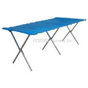 Salokāms galds, viegli transportējams GALDS gadatirgiem 150 x 100 cm
