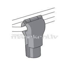 Magnētiskās drošības atslēgas preču āķiem, 5 mm