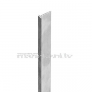 "Eirosienas malu savienojuma alumīnija profils ""T"", 2000 mm (Eiro siena, Spacewall, Slatwall)"