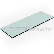 Stikls, stikla plaukts, plaukta virsma ar slīpētām malām, 950 x 300 mm, 6mm stikls
