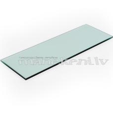 Stikls, stikla plaukts, plaukta virsma ar slīpētām malām, 650 x 250 mm, 8 mm stikls