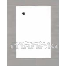 Preču etiķetes, birkas BLANC (baltas) 50x75mm, 200 gab.