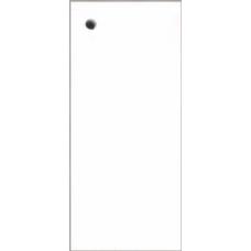 Preču etiķetes, birkas BLANC LUX (baltas) 40 x 90 mm, 150 gab.