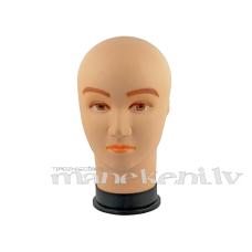 Dekoratīva vīrieša manekena galva ar uzzīmētu seju DSPH-CLRM-71