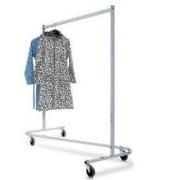 NOMA! Apģērbu pakaramo statīvs, viegli transportējams apģērbu stends, garderobe 25-30 pers. - UZ NOMU