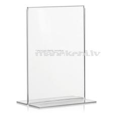 """Cenu zīmes, preču zīmes turētājs, A5 """"T"""" forma, informācijas turētājs no organiskā stikla, akrils"""