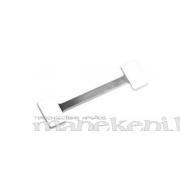 Pašlīmējošs vobleru turētājs, cenu zīmes turētājs - divpusēja voblera kājiņa, garā 15 cm, alumīnijs,100 gab.