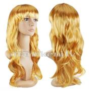 Parūka zeltaini blondā krāsā