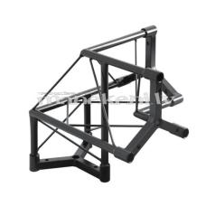 SpaceStairs dekoratīvās fermas 90° stūra savienojuma 3-virzienu elements