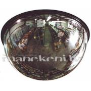 Tirdzniecības zāles spogulis 360° - kupols, sfēriskais panorāmas spogulis, 55cm