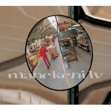 Tirdzniecības zāles apaļais spogulis, sfēriskais panorāmas spogulis, 30cm
