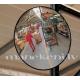 Tirdzniecības zāles apaļais spogulis, sfēriskais panorāmas spogulis, 60cm