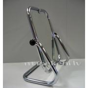 Zemais spogulis, regulējams spogulis ar metāla trubu rāmi