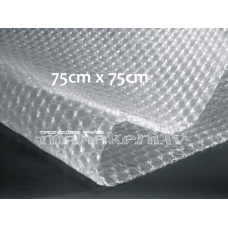 Burbuļplēves loksnes 75 cm x 75 cm, balta, 10 gab.