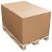 Gofrētā kartona kaste, palešu iepakojuma kaste, 5-slāņu gofra, 1150 x 800 x 1000 mm (FEFCO 201)
