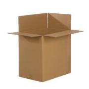 Картонная коробка из 3-слойного гофркартона, коробка 490 x 490 x 720 mm (FEFCO 201)