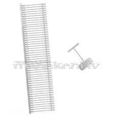 Etiķešu stiprinājumi (tekstilskavas) tekstilpistolei, #15 mm, 2000 gab.