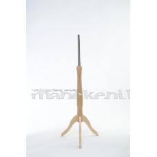 Manekena kāja, šuvēja manekena koka statīvs, gaiši brūns