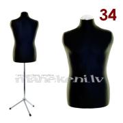 Швейный манекен, торс женский портновский, разм. 34, с хромированным штативом